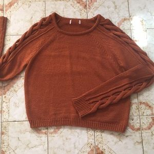 Rust sweater Only used once